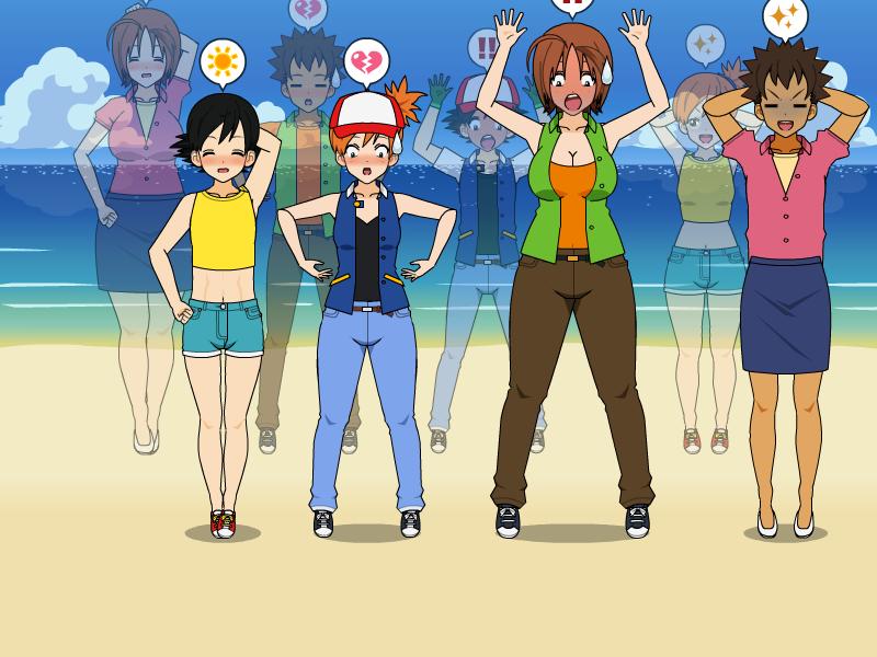 Body swap pokemon hentai love