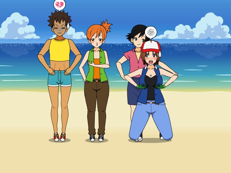 Deviantart Body Swap: Pokemon Kanto Body Swap Part 8 By Widowmaker-Evan On