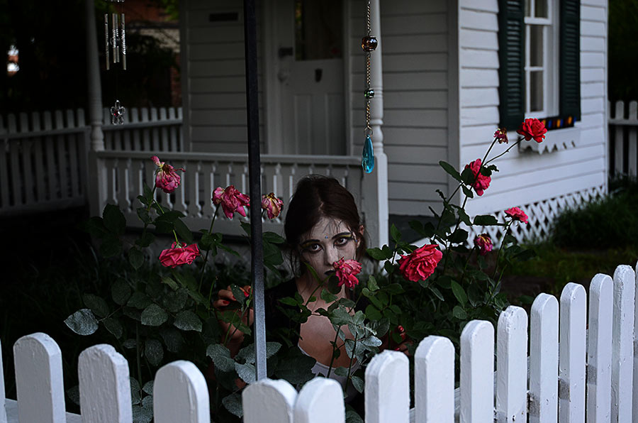 Creepy Little Girl by nikongriffin