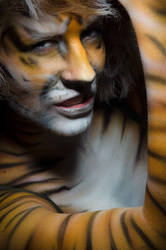 Tigress by nikongriffin