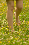 Barefoot Frolic by nikongriffin