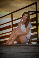 Sunset Over Samantha by nikongriffin