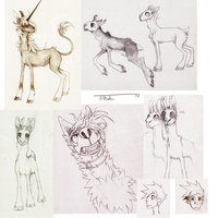 Sketches and shit by Tikrekins