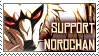 I Support Norochan - stamp by Tikrekins