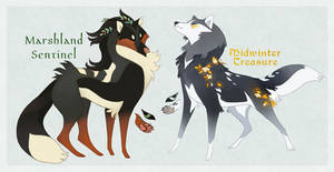 Wolves of Autumn and Winter Auction CLOSED