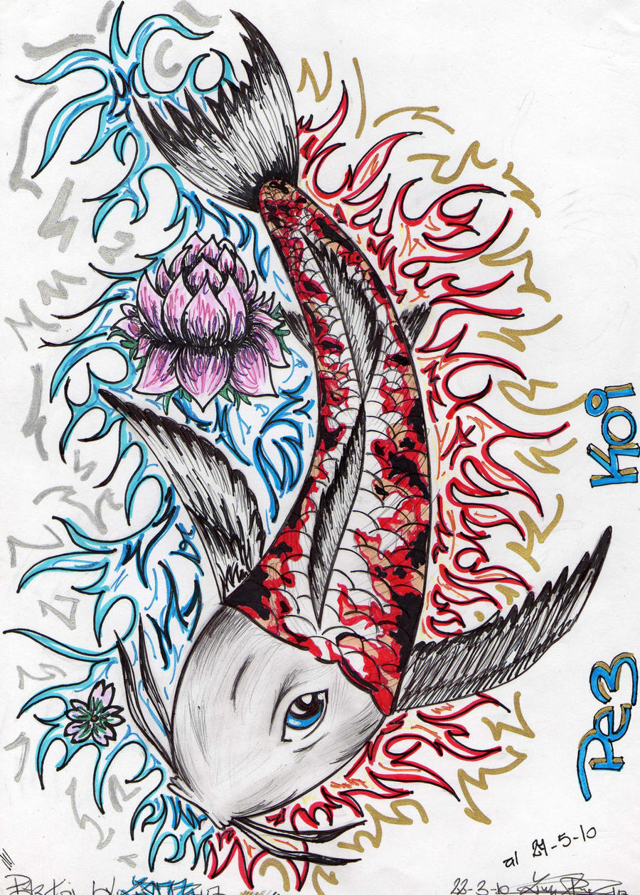 pez koi by zedsick on deviantart