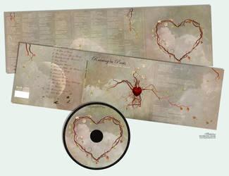 Raining In Paris - CD Artwork by temporary-peace