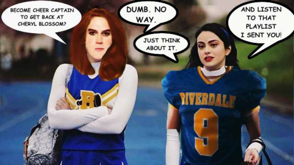 riverdale cheerleader liferedbankmick on deviantart
