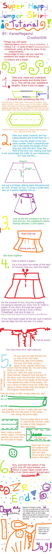 Happy Jumper Skirt Tutorial by CrushonDib