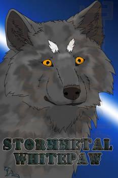 [Commission] Stormmetal Whitepaw