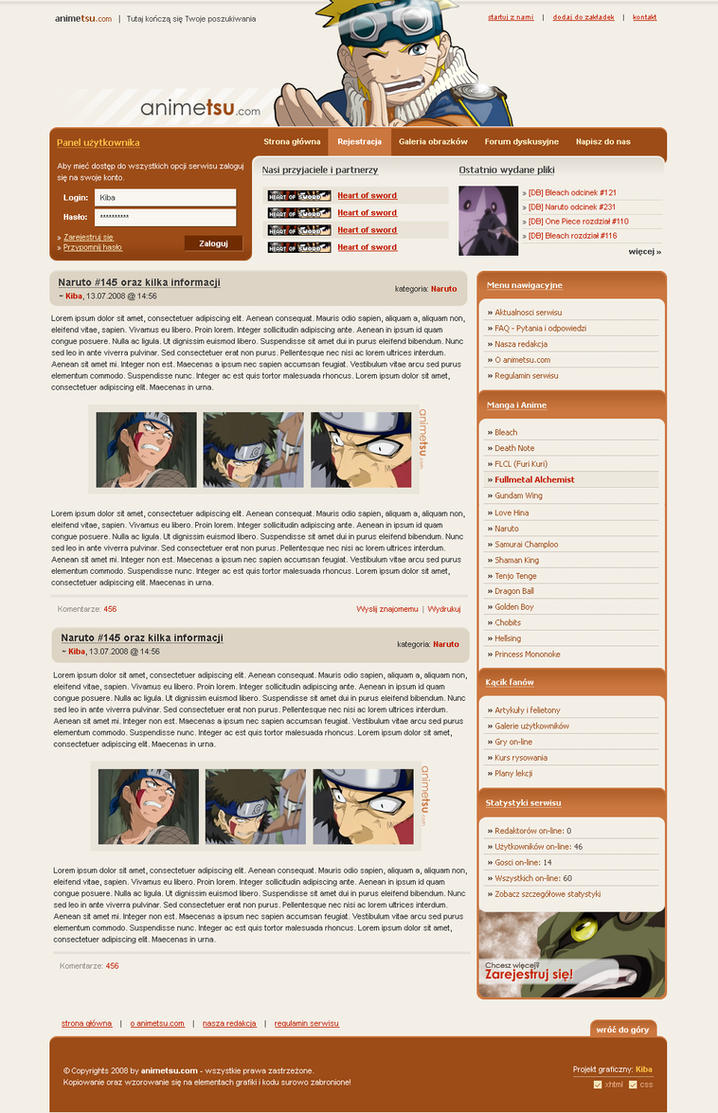 Animetsu.com by kibus
