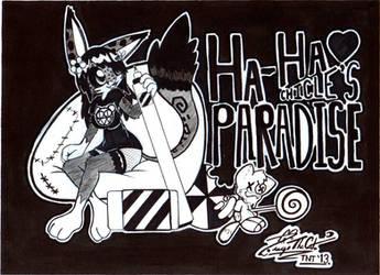 Ha-Ha Chicle's Paradise by blaze-titan001