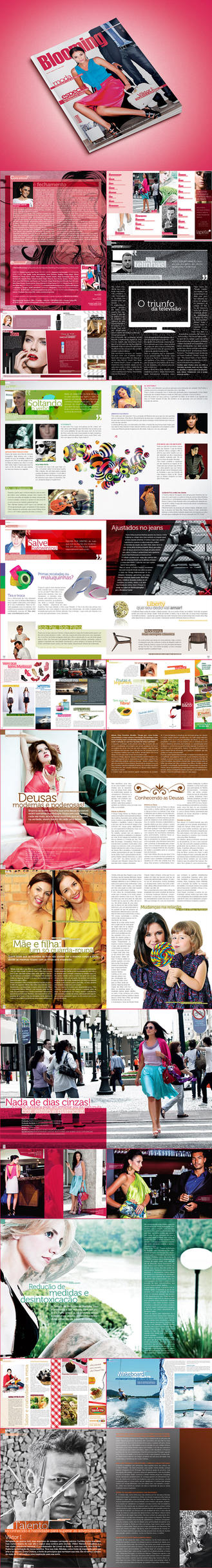 blooming magazine 8 by felipeart