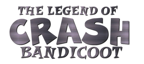 The Legend of Crash Bandicoot - Logo by RedHunterZ