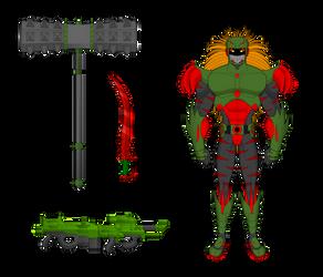 Death-Metal Armor-Komodo-X