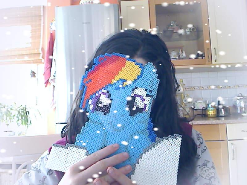 Hi, i'm Rainbow Dash! XD by PurpleAirTheBest