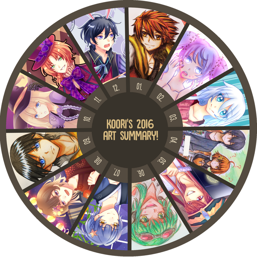 Art Summary 2016 by HikaruYukiHime