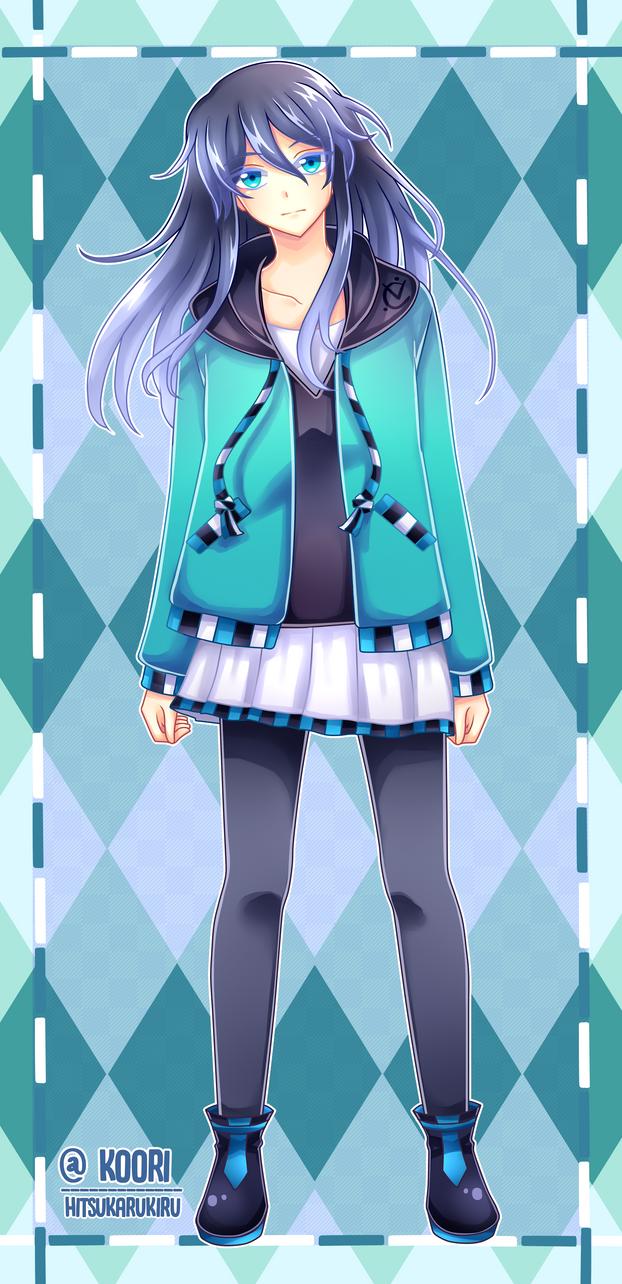 My Art page mascot: Koori! by HikaruYukiHime