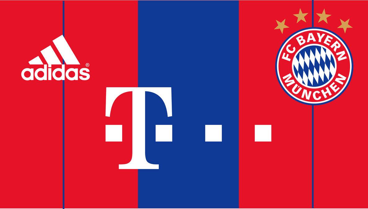 hot sales 9325e ae2cc Bayern Munich Home Kit 2014/2015 by carta921 on DeviantArt