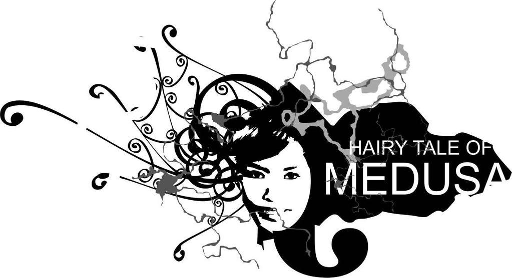 hairy tale of medusa by dimasdwipramono