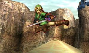 Link's Rider Kick