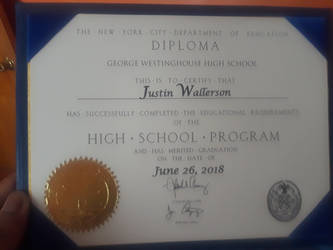 This is my diploma! by pyrus125680