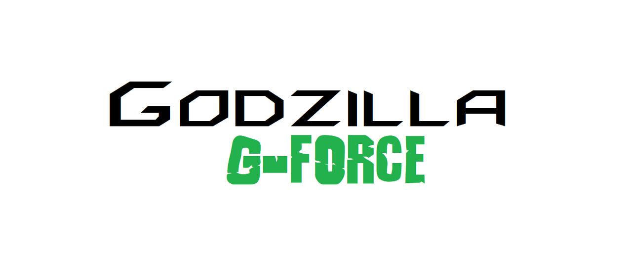 Godzilla G-Force logo by pyrus125680
