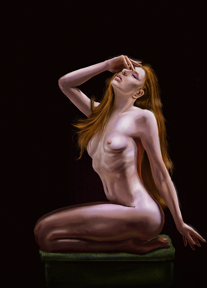 Figure and Color study by szander