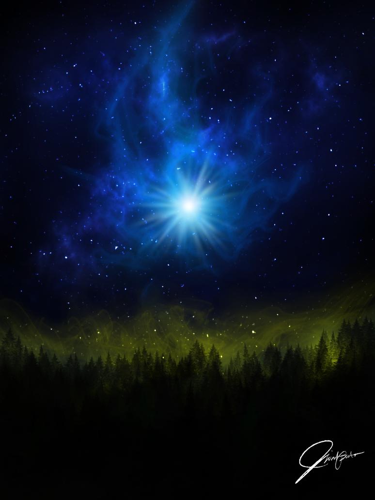 Blue Sky Gem by ClintTriesToPaint