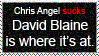 David Blaine Stamp by heybass