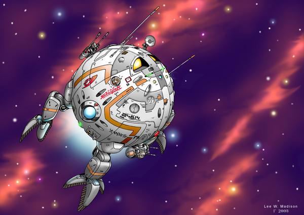 StarSnooper Mk.3 by Artraccoon