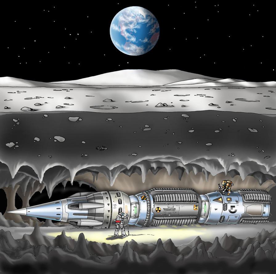 ATBM-4 Atomic Mole by Artraccoon
