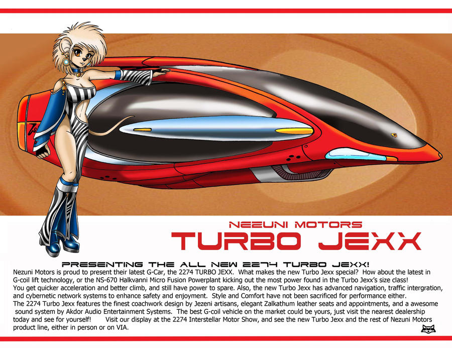 Nezuni Motors 2274 TurboJexx by Artraccoon