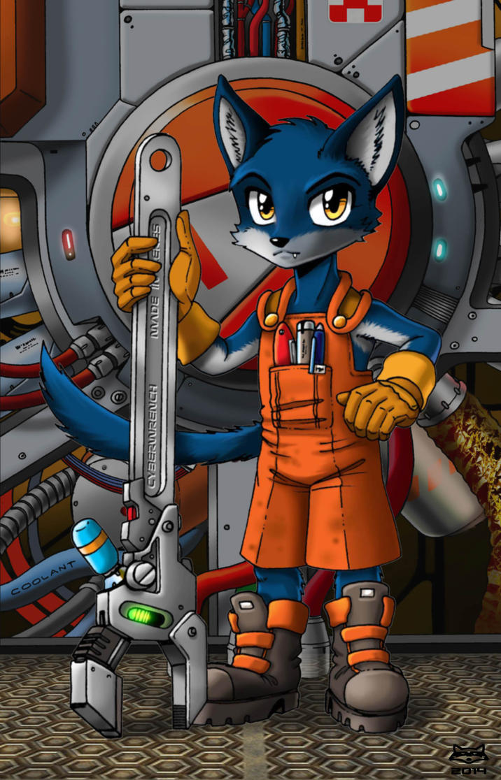 Engineer's Helper by Artraccoon