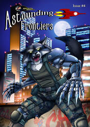 Astounding Frontiers Magazine, Issue Four by Artraccoon