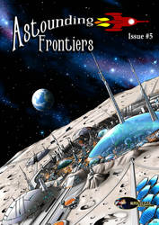 Astounding Frontiers Magazine, Issue Five by Artraccoon