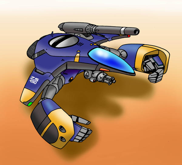 GTP-5 Warpod by Artraccoon