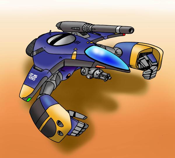GTP-5 Warpod by Artraccoon