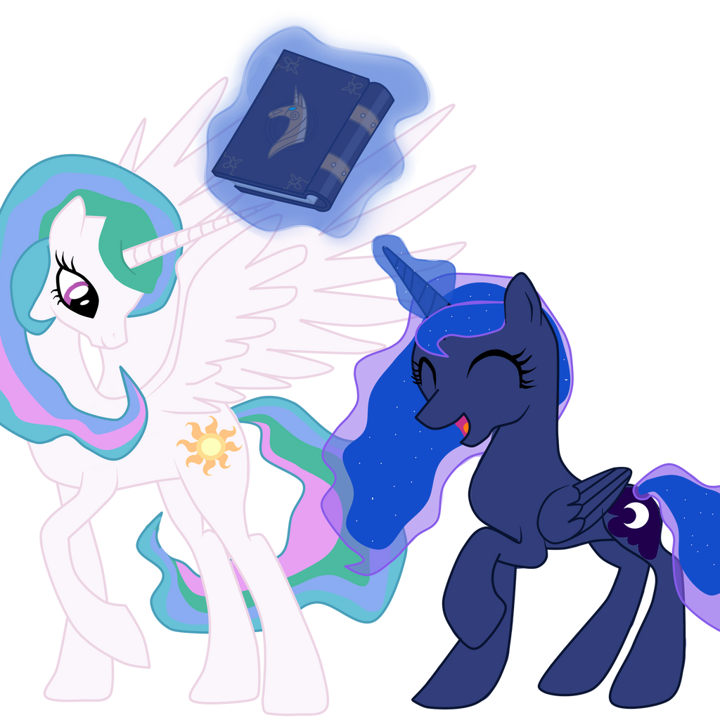 Princess Luna And Princess Celestia : We Love By Ritya9898 ...