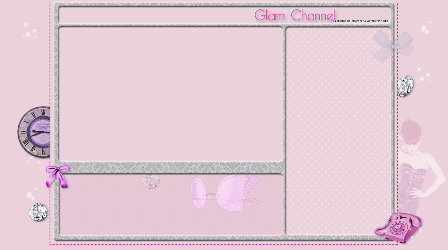 YouTube Glam Channel Layout by grafiglam