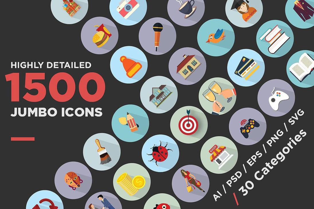 Jumbo-flat-icons-1 by jumboicons