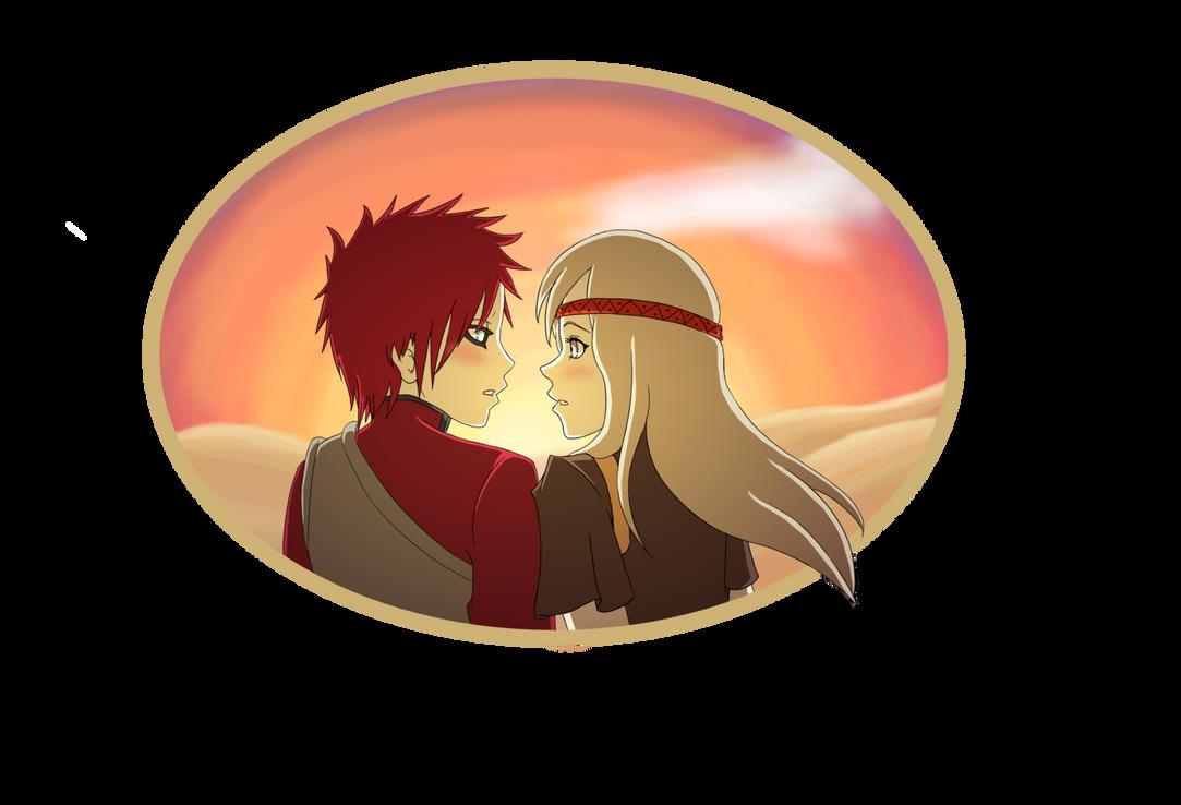 AT - Kazekage-sama, you're blushing... by Kozuchi-no-Ayumi ... Gaara Blushing