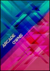 Arcade Owns Poster - Print by Monnario