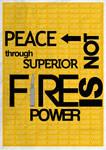 PEACE by Monnario