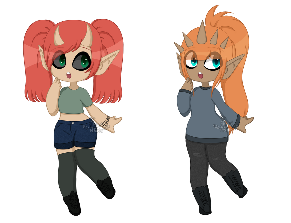 Monster Girls Adoptables || OPEN [2/2] by AngelAdopts