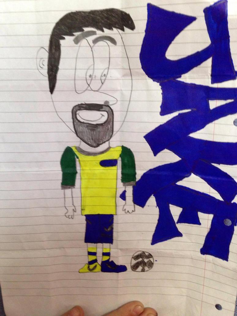 Brizilian football player by mosterman500