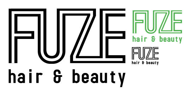 Hair And Beauty Logo. Fuze hair and eauty logo by