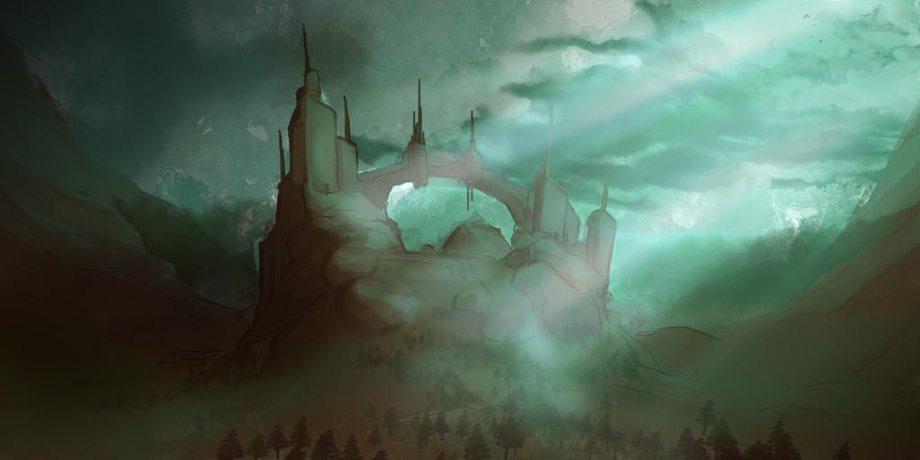 Valley Castle by SenseiGrove