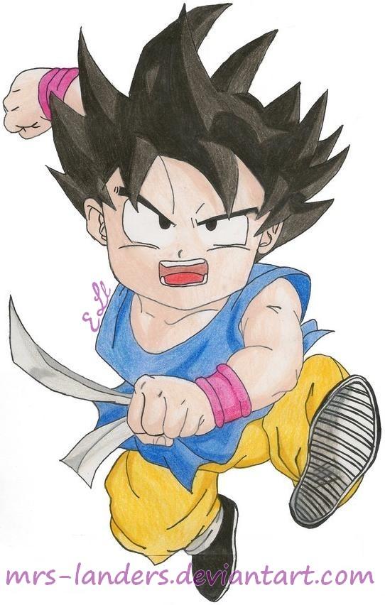 Goku DBGT Part Deux by mrs-landers