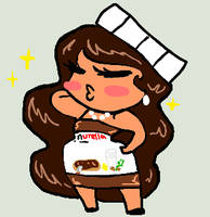 Miss Nutella by pidopay